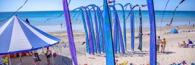 Coutainville la plage à Agon-Coutainville dans l'agenda des manifestations de Coutances Tourisme